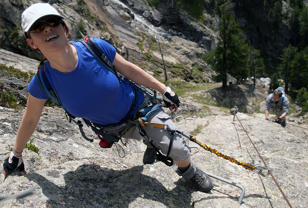 Klettersteig La Resgia : Kategorie klettersteige tobiashug