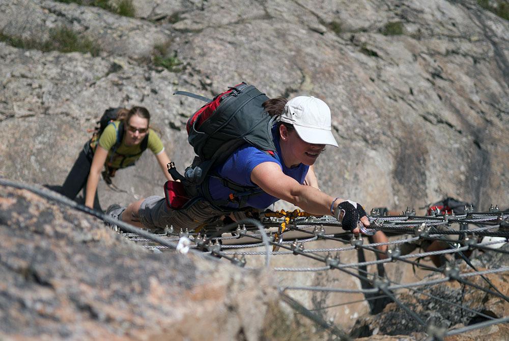 Klettersteig La Resgia : F klettersteig la resgia«